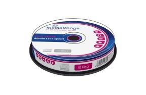 CD-R MEDIARANGE 80' 700mb 52x CAKE/10